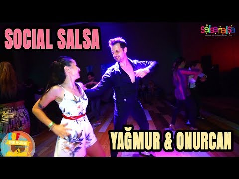 YAĞMUR & ONURCAN SOCIAL SALSA VIDEO (Social Dance Video)