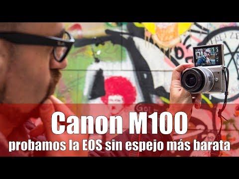 Canon M100: REVIEW en español de la sin espejo más sencilla y barata de la marca