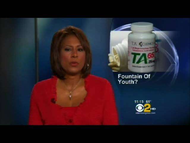 "CBS News on Telomeres with Dr Ed Park: ""The Fountain of Youth in a Tiny Capsule?"" - TA 65"