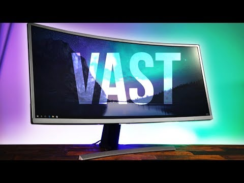 "Massdrop Vast 35"" Curved Gaming Monitor Review!"