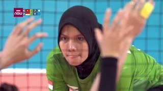 Bóng chuyền nữ ASIAD 2018: Việt Nam Vs Indonesia | VTC Now