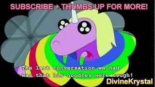 NEW! Lady Rainicorn Translations to ENGLISH Adventure Time -Entire Episode-