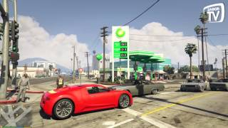 GTA 5 PC Mods: Shell, BP, Caltex Petrol Stations and Coca Cola Truck V3.2