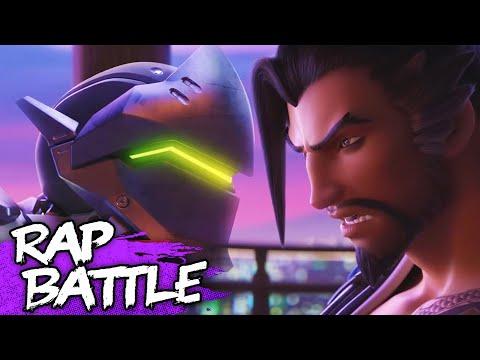 Overwatch Rap Battle | Genji vs Hanzo | #NerdOut!