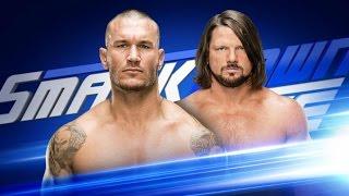 AJ Styles Vs. Randy Orton Highlights | Smackdown 3/7/17