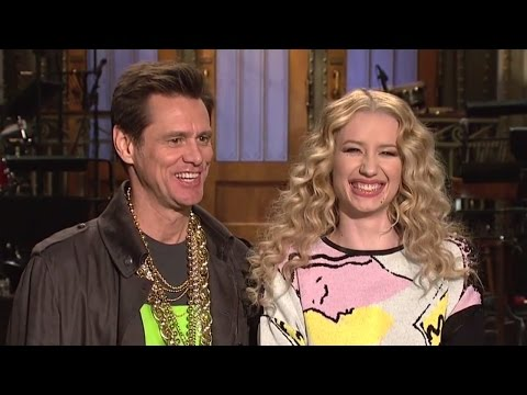 Iggy Azalea SNL Promos with Jim Carrey For Halloween Episode!