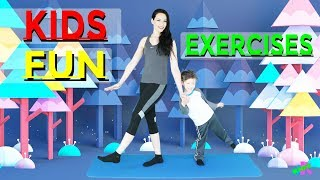 Kids Fun Dance | Exercise and Dance for Kids! | Cute Dance for Children | ERFR Cute Animation