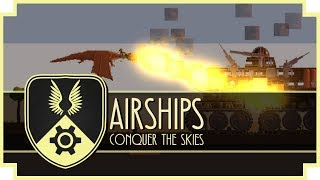 Airships: Conquer The Skies - (Steampunk Building Strategy Game)