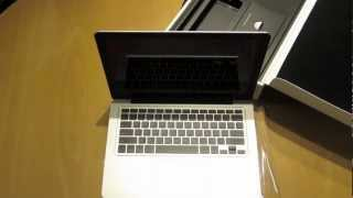 New 13-Inch Macbook Pro Unboxing July 2012