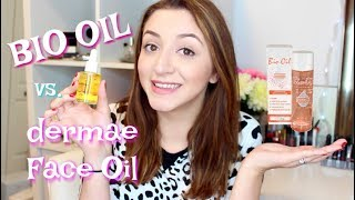 BIO OIL vs. DERMAE FACEOIL REVIEW | HOW TO GET BEAUTIFUL SKIN