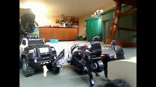 Transformers 3 Highway Scene Stop Motion