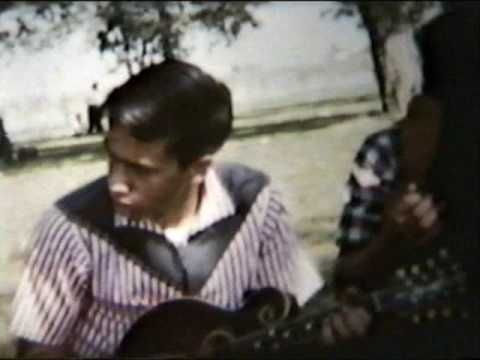 Roland White, Eric White, Clarence White Home Movie 1958