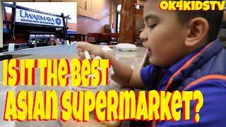 Seattle's Best? Uwajimaya Asian Grocery Store International District Seattle   ok4kidstv video  219