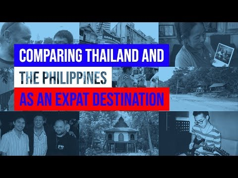 Comparing Thailand And The Philippines As An Expat Destination video