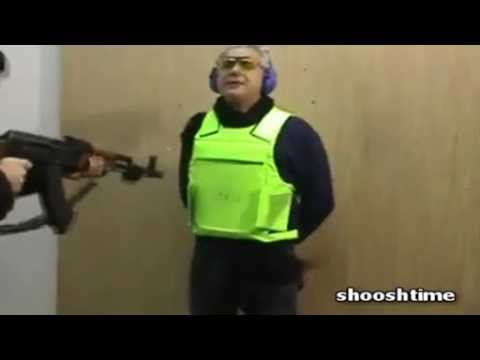 How Italians Test Bullet Proof Vests