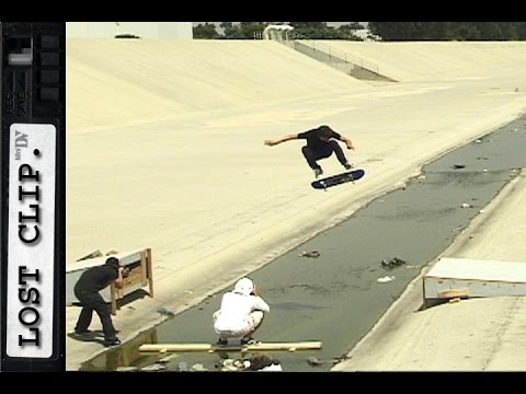 Geoff Rowley Heelflip Lost & Found Skateboarding Clip #162