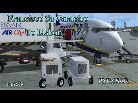 [FSX] Francisco Sa Carneiro to Lisbon RYR45AR