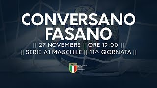 Serie A1M [11^]: Conversano - Fasano 24-20