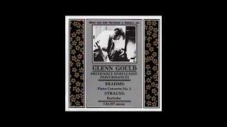 Glenn Gould Live concert performances (1962) (Brahms, Strauss)
