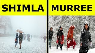 Shimla vs Murree Full Hill Station Comparison UNBIASED 2018 | Murree and Shimla | India
