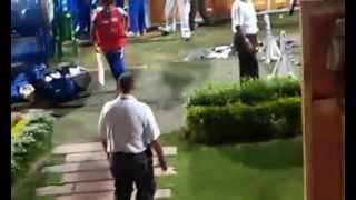 MUMBAI INDIANS AT DRESSING ROOM IN IPL 2015