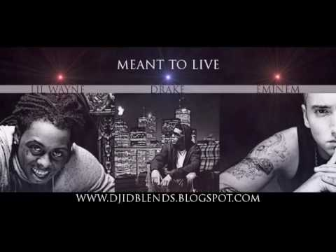 Lil Wayne- Meant To Live Ft. Eminem, & Drake [prod. M&d] video