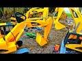 포크레인 건설 중장비 찾기 트럭 모래놀이 키즈 자동차 장난감 Excavator Construction Vehicles Video for Kids