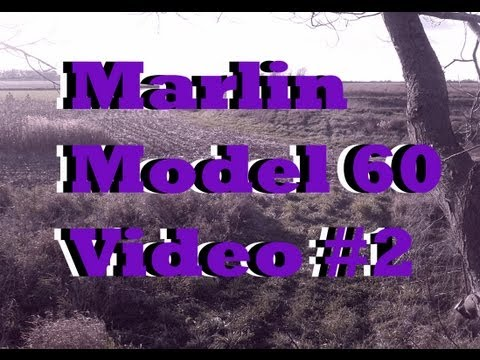Marlin Model 60: reassembling/ Conclusion  of series