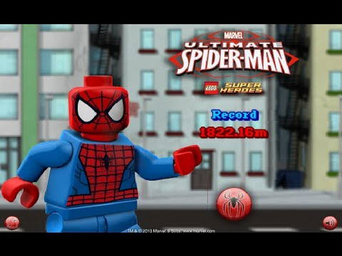 lego spiderman games to play free