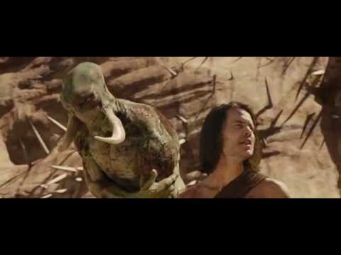 JOHN CARTER extended scene - White Apes - Disney - Only at the Movies March 8