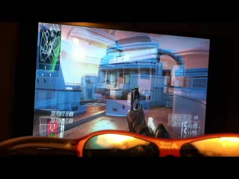 lg 3d passive 3d with dual play and 3d black ops 2 gameplay