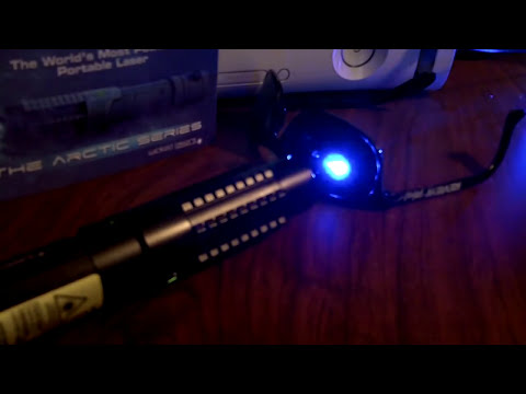 Spyder 3 Arctic Laser - Burning a Hole Through Sunglasses!