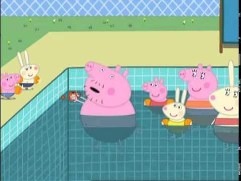 Świnka Peppa-Pływanie