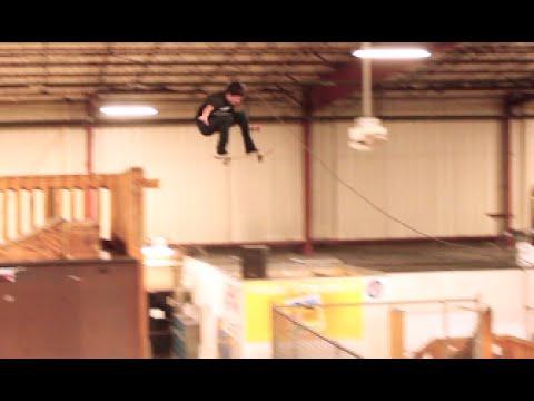 Deadly Gap Ollie At Skatepark!