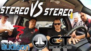 stereo VS stereo - Rafa Tunes a JL Audio TWK D8 with the AudioFrog RTA kit UMI-1! - AMPLIFIED #670