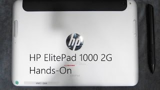 HP Elitepad 1000 2G Baytrail 2014 Model Hands On with Chippy