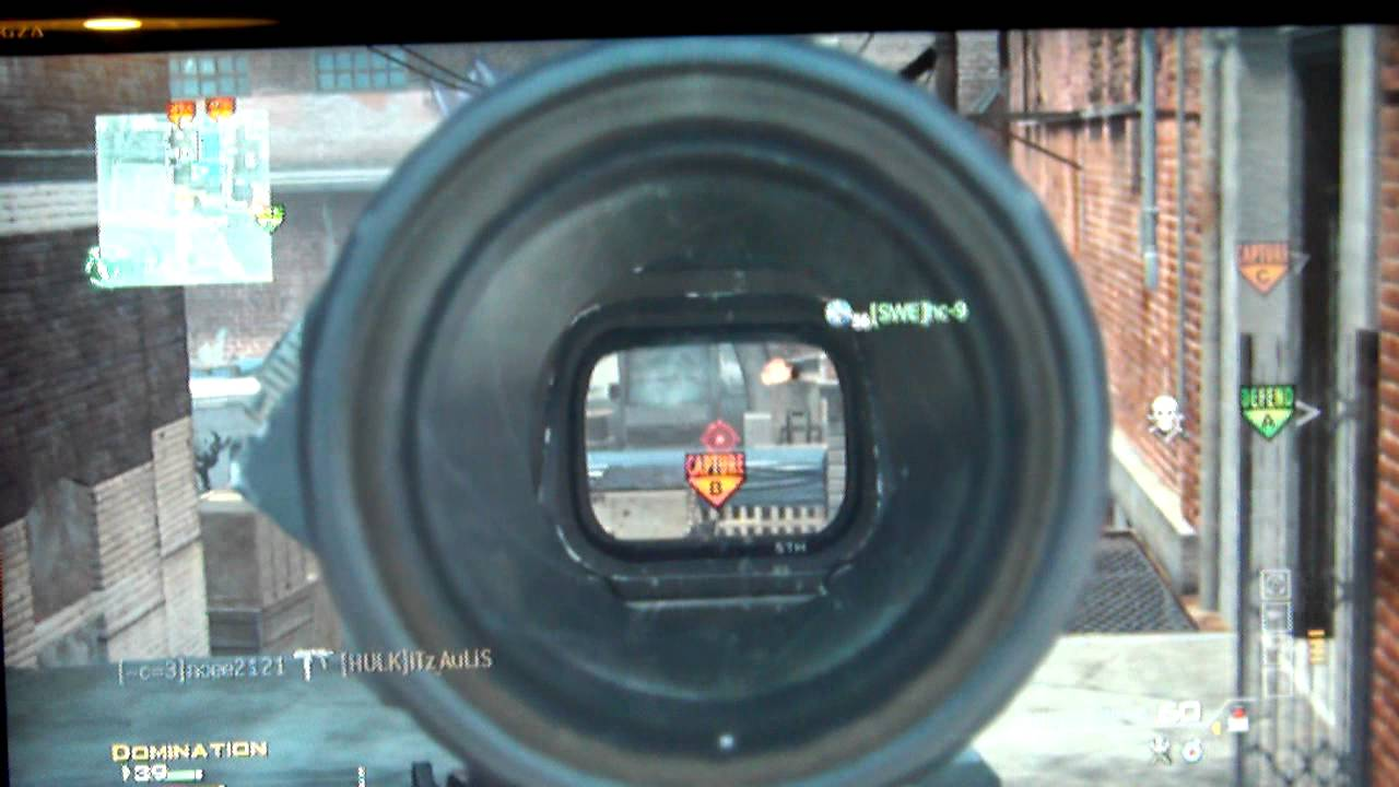 Hybrid Sight Mw3 Silenser And Hybrid Sight