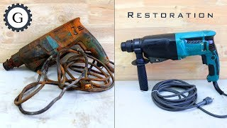 Old Drill Restoration | Makita HR2601F AVT Rotary Hammer