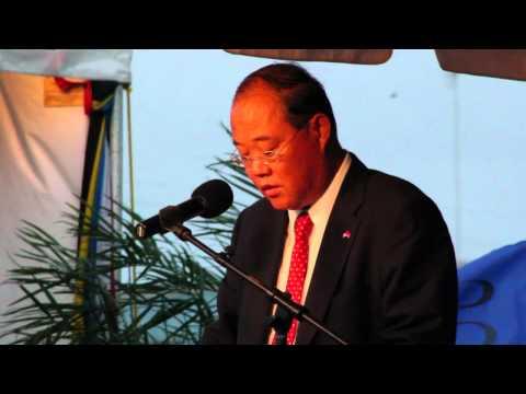 H.E Liu Hanming's Remarks On New Airport Terminal