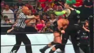 Jeff Hardy vs Brock Lesnar Backlash Highlights