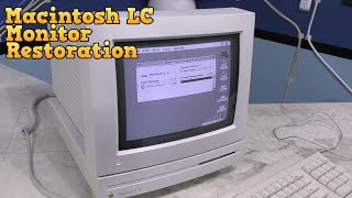Macintosh LC Monitor Restoration