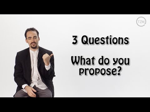 Three Questions: What do you propose? by Peter Joseph | The Zeitgeist Movement