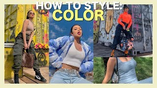 HOW TO PUT OUTFITS TOGETHER: How to Look Good in Color
