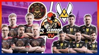 ENCE vs Vitality Highlights - CS SUMMIT 4 * Overpass