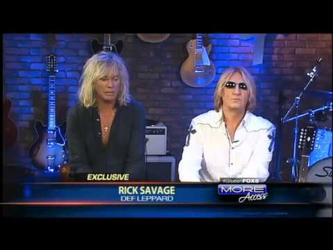 Def Leppard&#039;s Joe Elliott &amp; Rick Savage on More Access TV Show