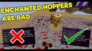 Why You Should NOT Buy Enchanted Hoppers - Hypixel Skyblock