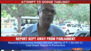 Coal scam report buried?