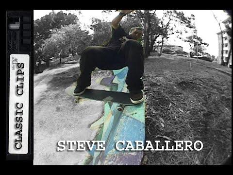 Steve Caballero Skateboarding Classic Clips #193