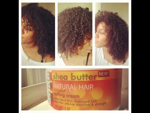 Wash N Go Using Cantu Coconut Curling Cream
