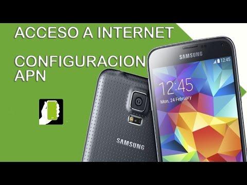 Samsung Galaxy S5  ( Configuracion APN internet movistar colombia